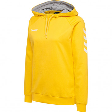 Ženski pulover s kapuco hummel GO COTTON