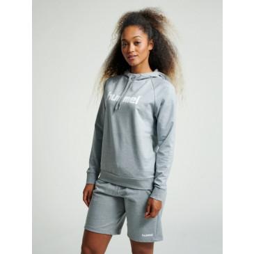 Ženski pulover s kapuco hummel GO COTTON LOGO