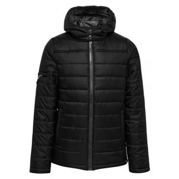 Dječja podstavljena jakna s kapuljačom hmlNORTH QUILTED