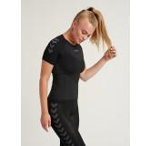 Ženska aktivna majica FIRST - aktivno rublje hummel – kratki rukav