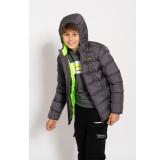 Dječja zimska jakna HMLGEORIN ZIP COAT
