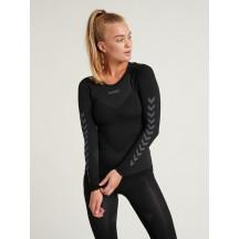 Ženska aktivna majica FIRST - aktivno rublje hummel – dugi rukav