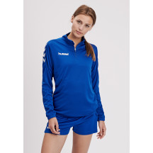 CORE WOMAN 1/2 ZIP SWEAT - ženska majica