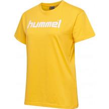 ženska majica s kratkimi rukavima hummel GO COTTON LOGO
