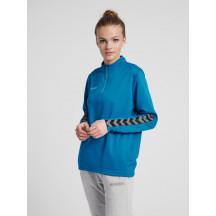 hmlAUTHENTIC HALF ZIP SWEATSHIRT WOMAN - ženski džemper