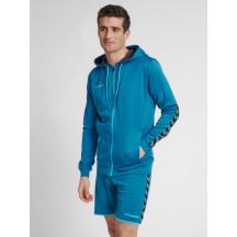hmlAUTHENTIC POLY ZIP HOODIE - muška zip majica s kapuljačom