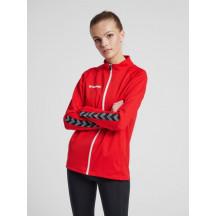 hmlAUTHENTIC WOMEN POLY ZIP JACKET- ženska zip majica