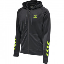 hmlACTION ZIP HOODIE SWEAT - muška zip majica s kapuljačom
