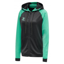 hmlACTION ZIP HOODIE SWEAT WOMAN - ženska zip majica s kapuljačom