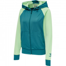 hmlACTION ZIP HOODIE WOMAN - ženska zip majica s kapuljačom