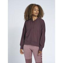 hmlLUISE LOOSE ZIP HOODIE, ženska zip majica s kapuljačom