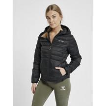 hmlPHILA PUFF JACKET - ženska prijelazna prošivena jakna s kapuljačom