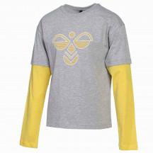 hmlHEBRONY L/S T-SHIRT - dječja majica s dugim rukavima