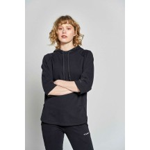 HMLBELLANCA SLEEVELESS HOODIE - ženska majica sa kapuljačom