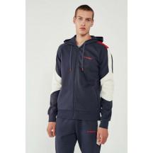 hmlIWAN ZIP HOODIE - muška zip majica s kapuljačom