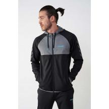 hmlCRAIL ZIP HOODIE - muška majica s kapuljačom