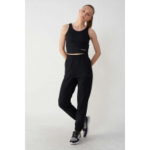 hmlAVILON PANTS - ženske hlače s visokim strukom