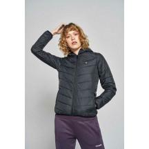 hmlPERRINE ZIP COAT - ženska podstavljena jakna s kapuljačom
