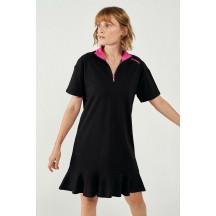 hmlCOTE DRESS - ženska haljina s kratkim rukavima