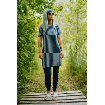 HMLTENNO DRESS - ženska haljina s kratkim rukavima