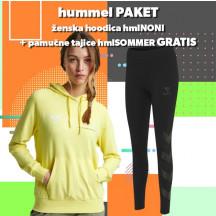 PAKET - ženski hoodie hmlNONI + tajice hmlSOMMER
