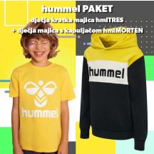 PAKET - dječja kratka majica hmlTRES + dječja hoodica hmlMORTEN