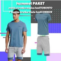 PAKET - muška kratka majica hmlTORONTO + kratke hlače hmlCONNOR