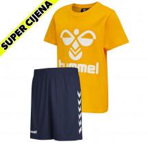 PAKET - dječja kratka majica hmlTRES + dječje kratke hlače CORE POLY KIDS