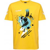 muška majica s kratkimi rukavima hummel GO COTTON