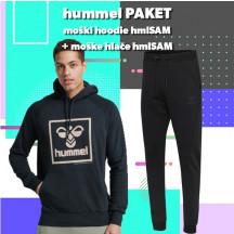 PAKET - muška hoodica hmlSAM + hlače hmlSAM