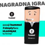 NAGRADNA IGRA - osvojite hummel #simplyfans Gorenje hladnjak